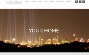 Austin realtor Tarek Morsehed's homepage image Austin skyline at night